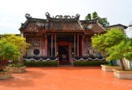 Chinese style temple